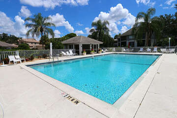 Enjoy the beautiful Florida weather by the pool