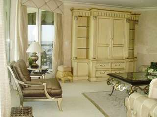 luxury Living space is beautifully furnished and decorated