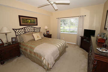 Rest easy in this lovely bedroom