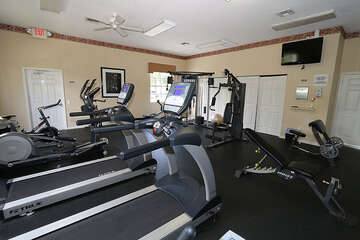 Start your day off right with a trip to the community gym
