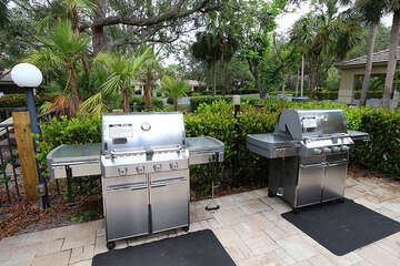 Wonderful common grill area