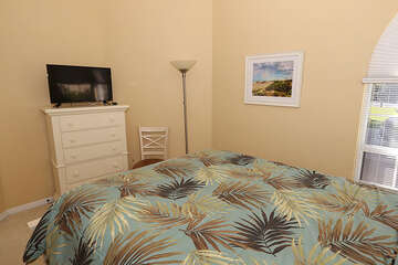 Beach styled guest bedroom