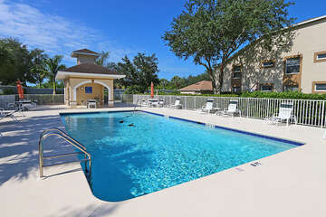 Enjoy the warm Florida weather at the pool
