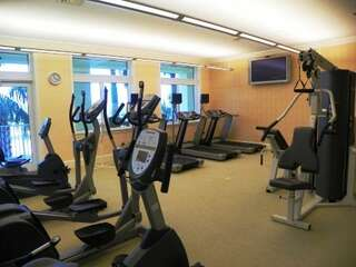 Start your day off right with a trip to the onsite gym