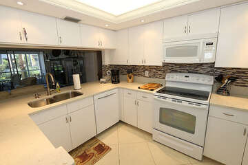 Renovated white cabinet kitchen