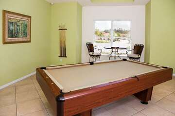 Avalon Preserve community clubhouse - Billards