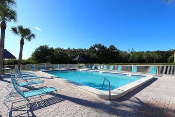 Community pool cool and inviting for those hot Florida days!