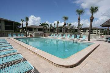Cool and inviting pool for those hot Florida days.