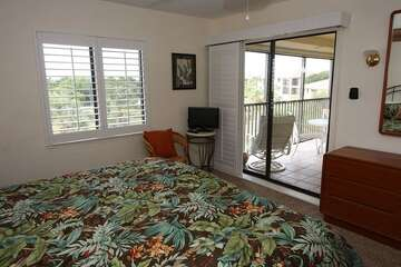 Master bedroom with great views and natural light.