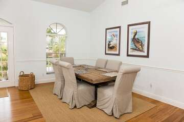 Formal dining area for those important family occasions.