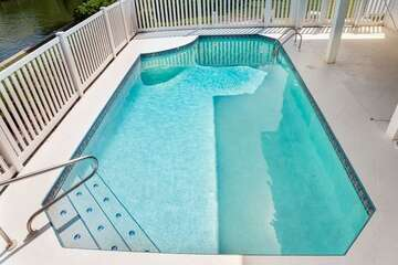 Cool and inviting pool for those hot Florida days!