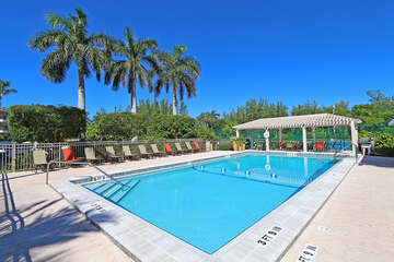 Complex shared heated pool