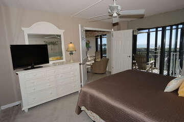 Master bedroom with gulf front views