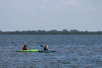 Kayaking on the Great Caloosa Bllueway