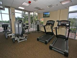 Community offers a fitness center.