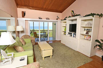 Gulf views from the living area!