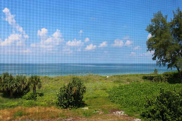 View from your screened lanai.