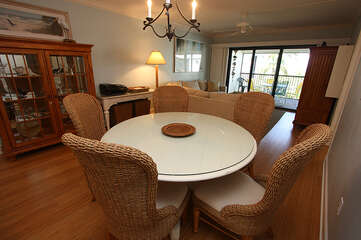 Dining table for those family meals.