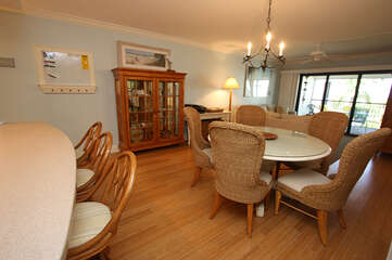 Very open floor plan makes this unit spacious.