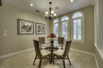 Extra dining space