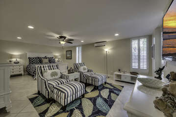 Incredibly spacious second Master Bedroom