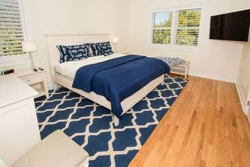 Guest bedroom 4 also very spacious and offers natural light!