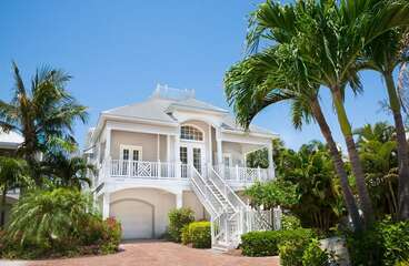 Front outside view of this Majestic home!
