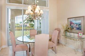 Dining area for those more formal dining experiences.