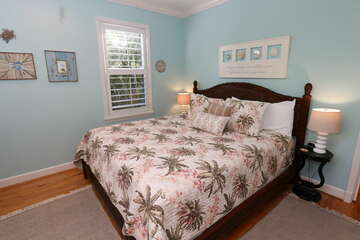 Guest Bedroom 2 offers a king bed.