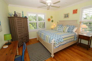 Guest bedroom 3 offers king bed.
