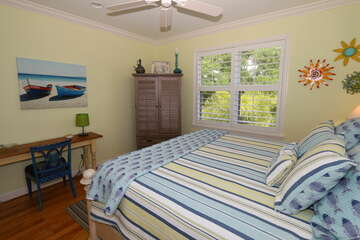 Guest bedroom 3 also has natural light and decorated nicely.