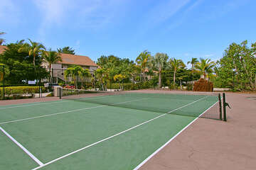 Community tennis courts for those tennis fans!