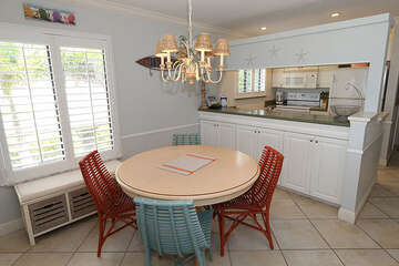 Dining area for a relaxing meal.