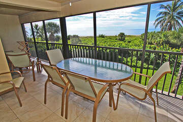 This is the awesome view from your lanai in this fantastic unit!