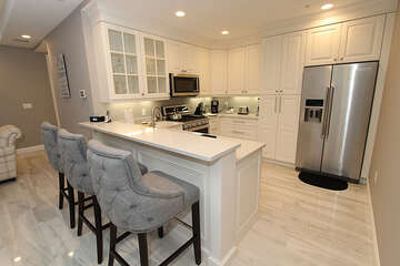 Fully updated equipped kitchen