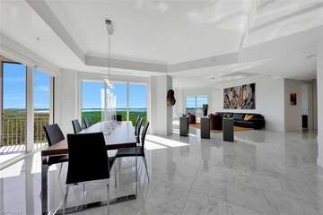 Expansive light and bright interior