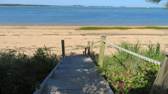 Steps to beach-66 Rush Drive Chatham Cape Cod New England Vacation Rentals