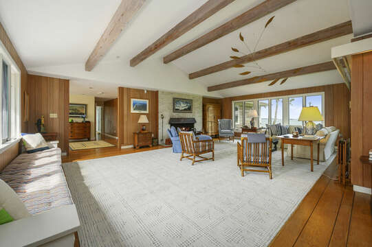 Living Area. 66 Rush Drive Chatham Cape Cod New England Vacation Rentals