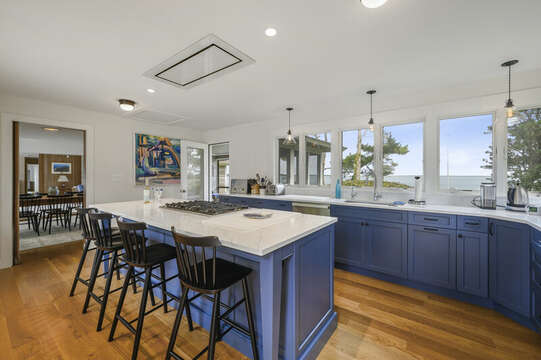 Completely updated Chef's Kitchen. 66 Rush Drive Chatham Cape Cod New England Vacation Rentals
