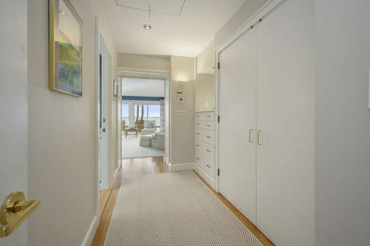 Entry to Master Bedroom. 66 Rush Drive Chatham Cape Cod New England Vacation Rentals
