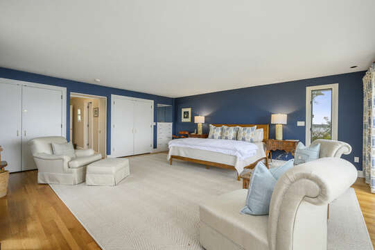 Another view of the Master bedroom. 66 Rush Drive Chatham Cape Cod New England Vacation Rentals