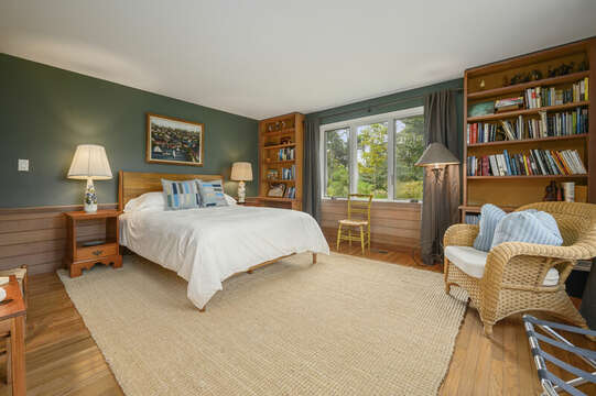 Bedroom #2 with Queen Bed. 66 Rush Drive Chatham Cape Cod New England Vacation Rentals