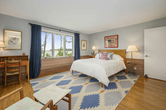 Bedroom #3 with Queen Bed. 66 Rush Drive Chatham Cape Cod New England Vacation Rentals