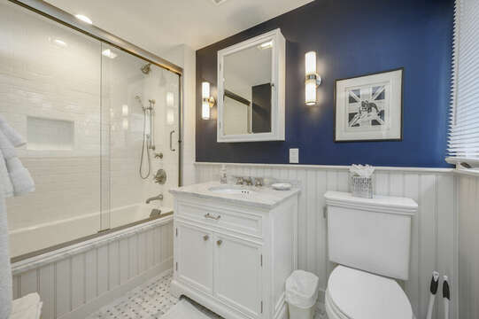 Bathroom for Bedroom #3. 66 Rush Drive Chatham Cape Cod New England Vacation Rentals