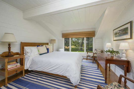 Separate Guest Suite with Queen Bed (Bedroom #4). 66 Rush Drive Chatham Cape Cod New England Vacation Rentals