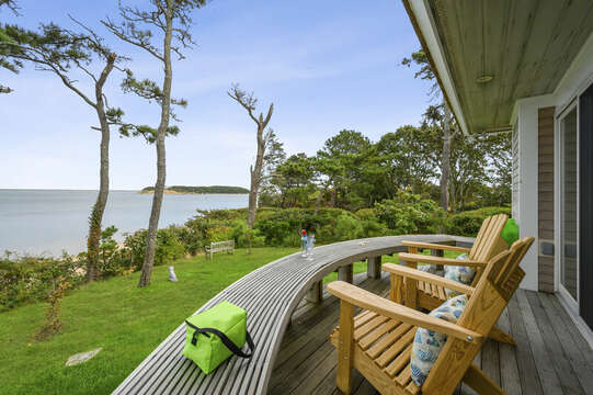 Enjoy the view! 66 Rush Drive Chatham Cape Cod New England Vacation Rentals