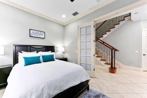 Main House First Floor bedroom