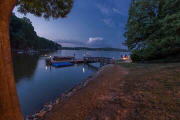Serene Lake views, nothing beats quiet nights on the lake!