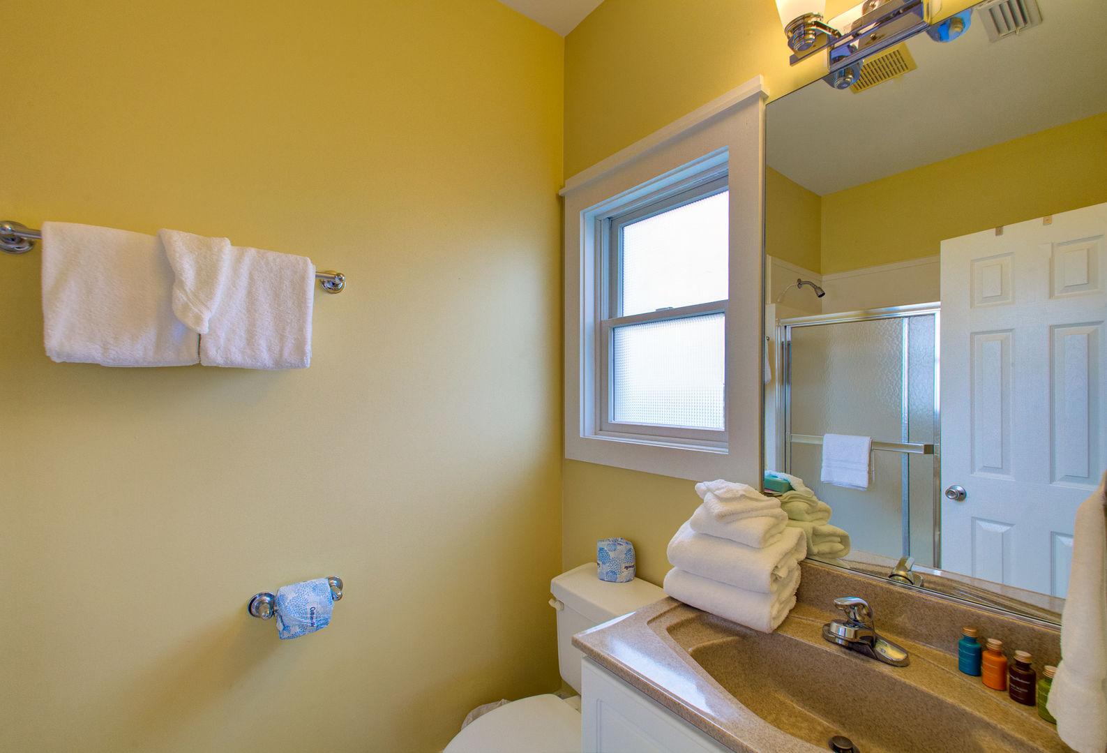 Bedroom #5 private bath.