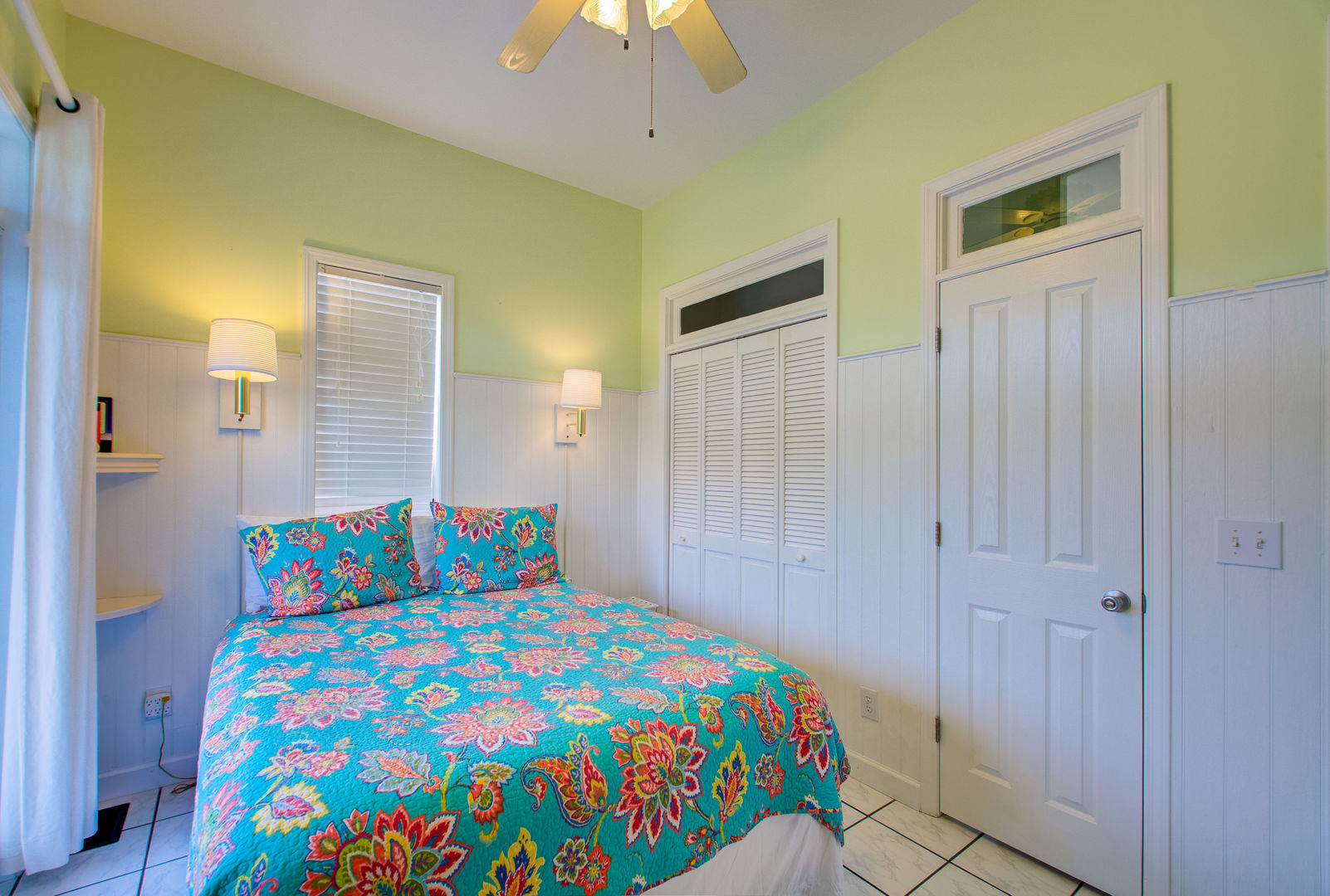 Bedroom Offers Plenty of Closet Space.